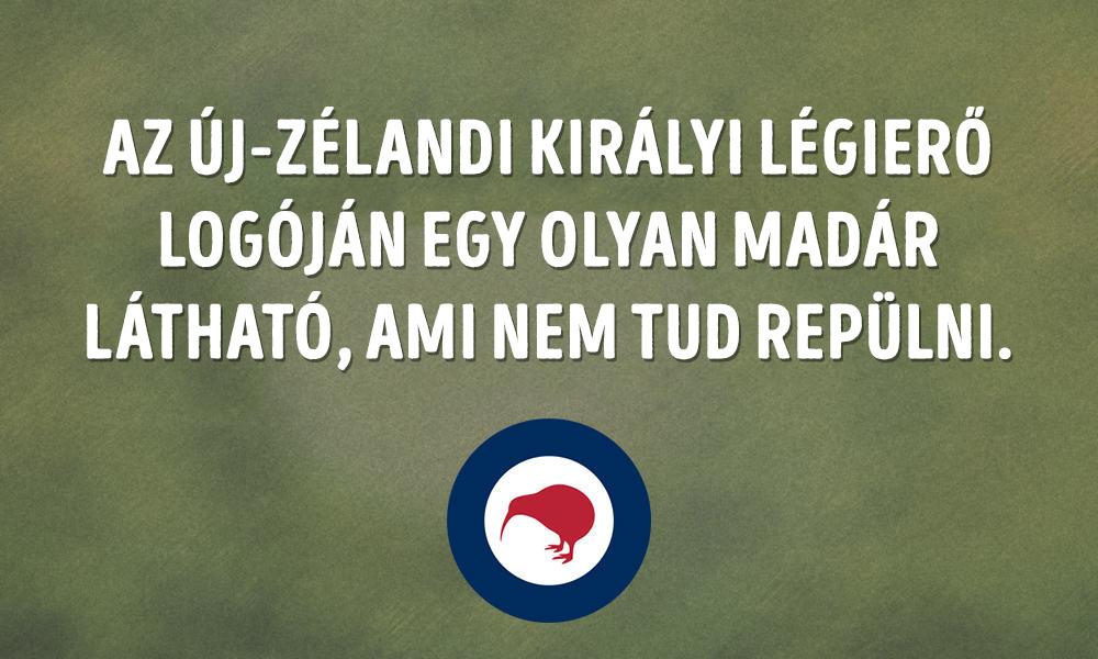Az Új Zélandi Királyi Légierő logója fail