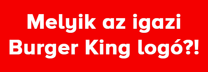 Burger King logo kviz