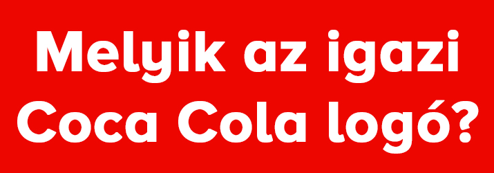 Coca Cola logo kviz