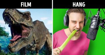 Film hangeffektek létrehozása