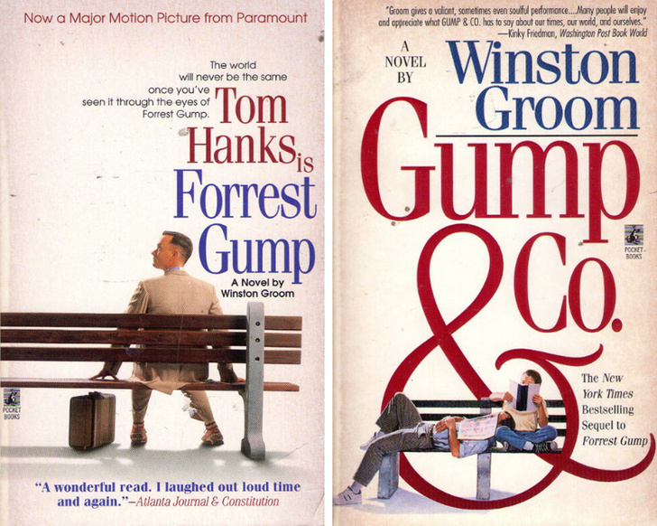 Forrest Gump könyv