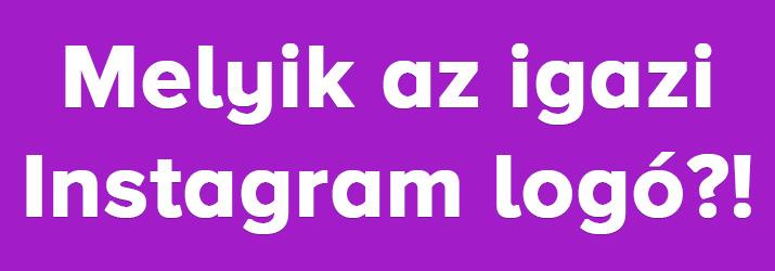 Instagram logo kviz