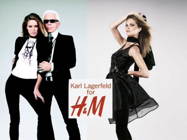 Karl Lagerfeld and HM