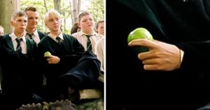 Negatív karakterek almával