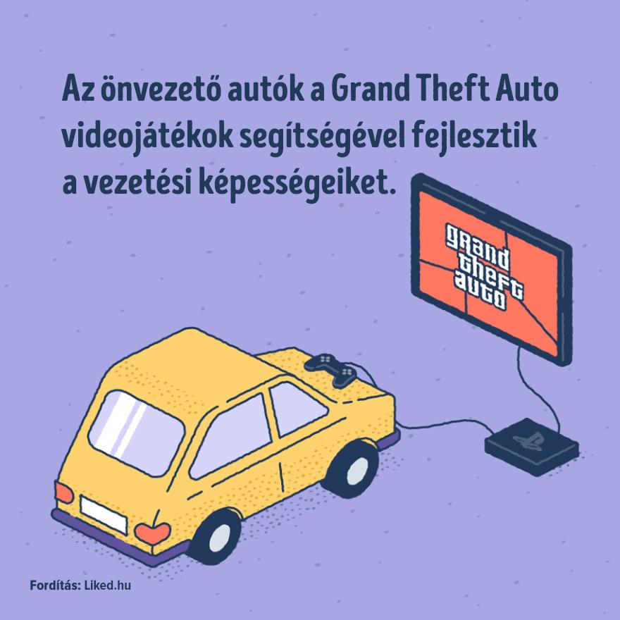 Onvezeto autok es a Grand Theft Auto jatekok