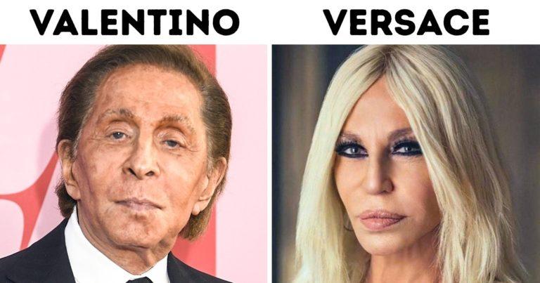Világmárkák mögötti hírességek