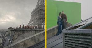 Vizuális effektek előtt és után