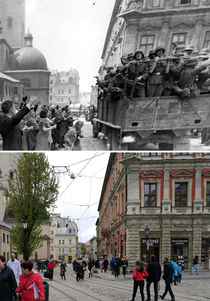 Europe during World War 2 and Today our top 22 Now And Then images 5dbffd01265c6 700