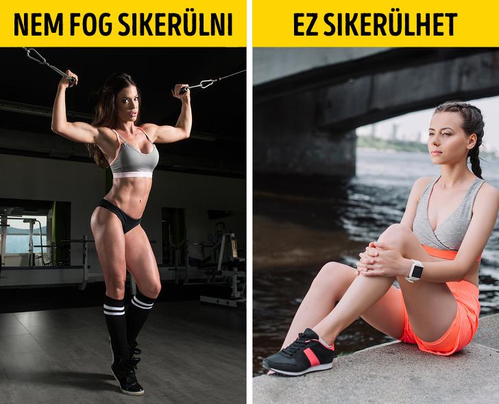Fitnesz eredmeny nem mindig lehetseges