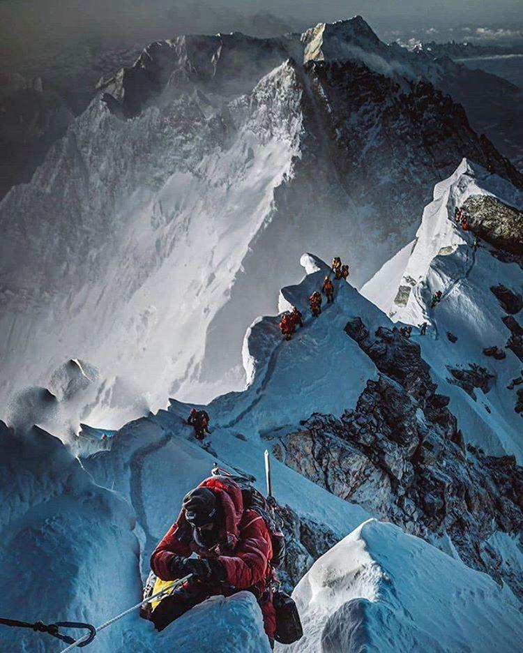 Hegymászás Mount Everest
