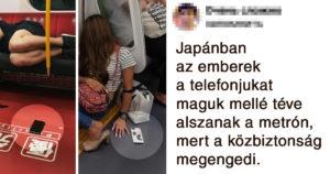Japán emberek érdekes élete