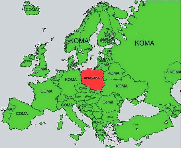 Koma szo europai orszagokban