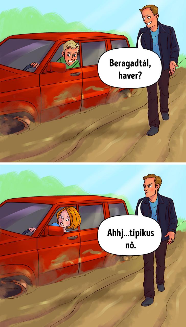 Noi vs ferfi soforok