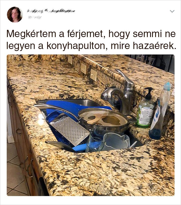 Semmi ne legyen a konyhapulton