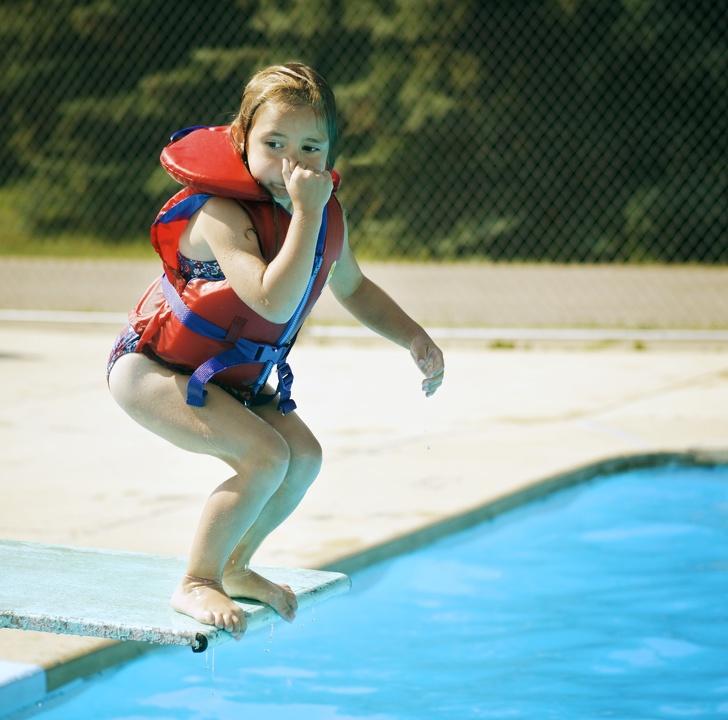 Úszásoktatás gyerekek