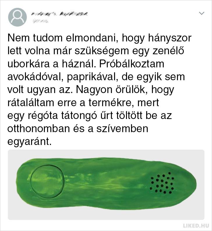 Zenelo uborka