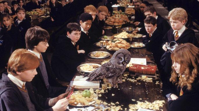 hogwart dinner
