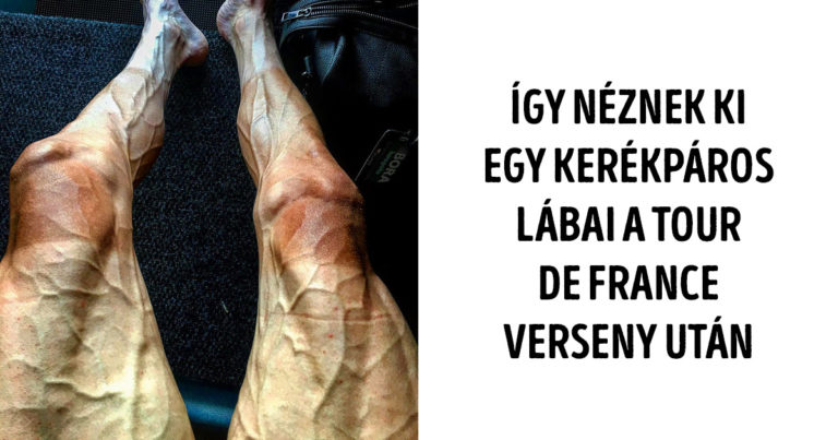 Kerékpáros lábai