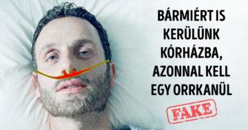 Mozifilmes orvosi tévhitek