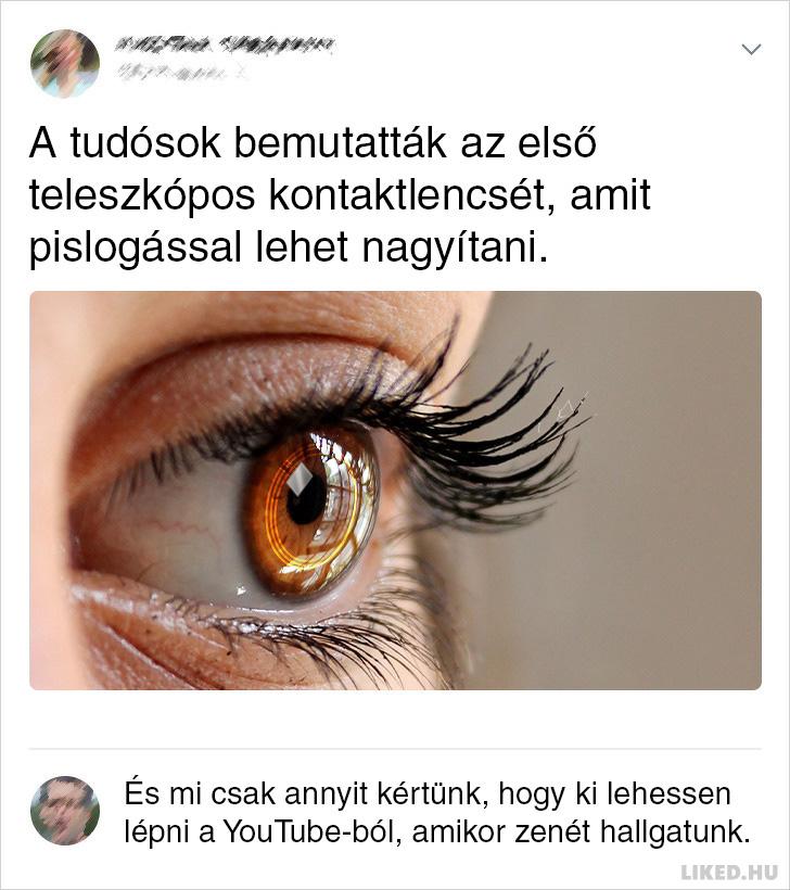 Teleszkopos kontaktlencse