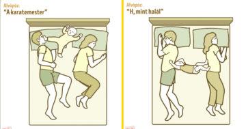 Alvópózok gyerekes szülőknek