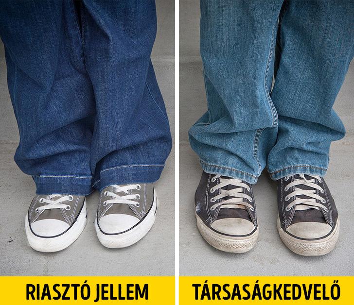 Cipő és a személyiségünk