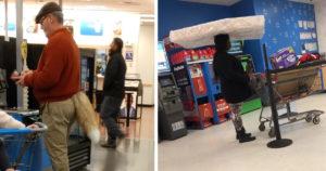Furcsa emberek a Walmartban