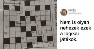 Logikai játék fail