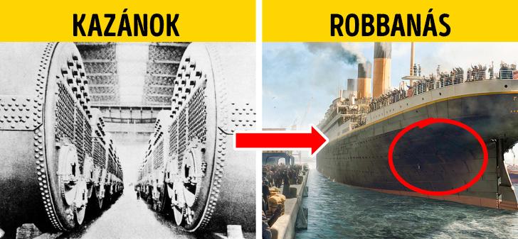 Titanic katasztrofa