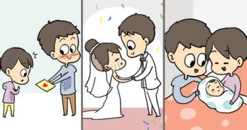Szerelmes illusztrációk