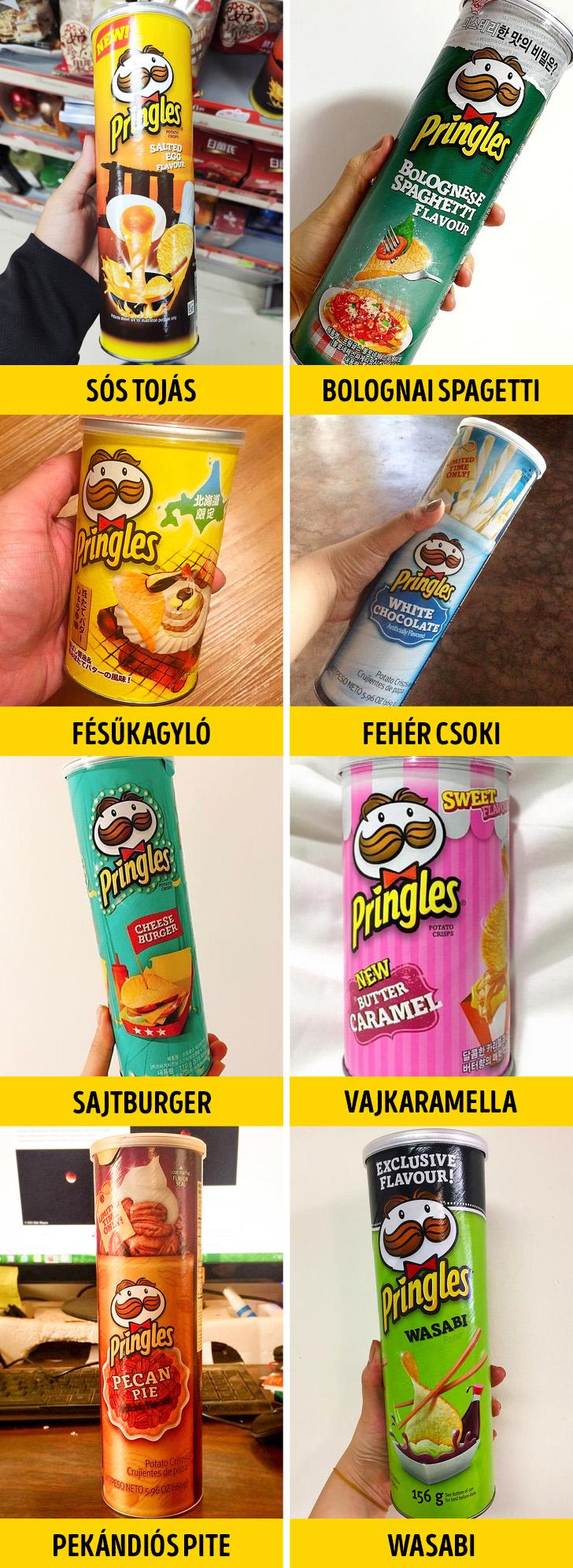 Furcsa Pringles chipsek
