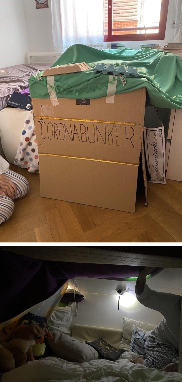 Koronavirus bunker