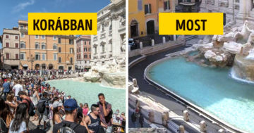 Olaszország a karantén előtt és most