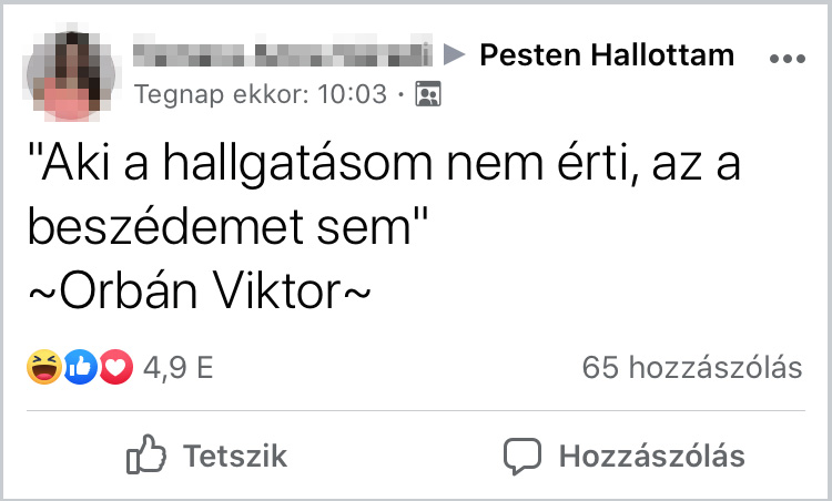 Orban viktor beszede