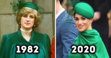 14 alkalom, amikor Diana hercegnőtől merített inspirációt Kate Middleton és Meghan Markle