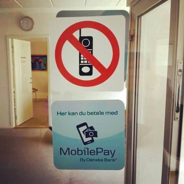 Dánia telefonhasználat