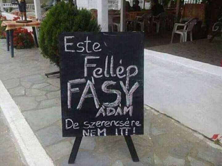 Fellep Fasy Adam de nem itt