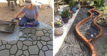Gyönyörű ötletek a kertbe