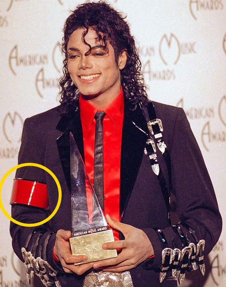 Michael Jackson karszalag