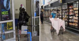 Walmart karantén emberek