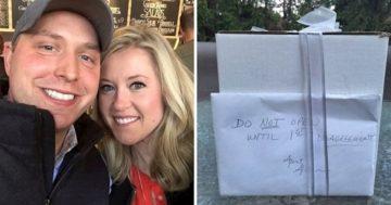 9 évvel esküvő után titkos ajándék