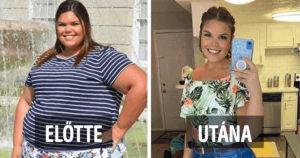 Fogyás előtt és után