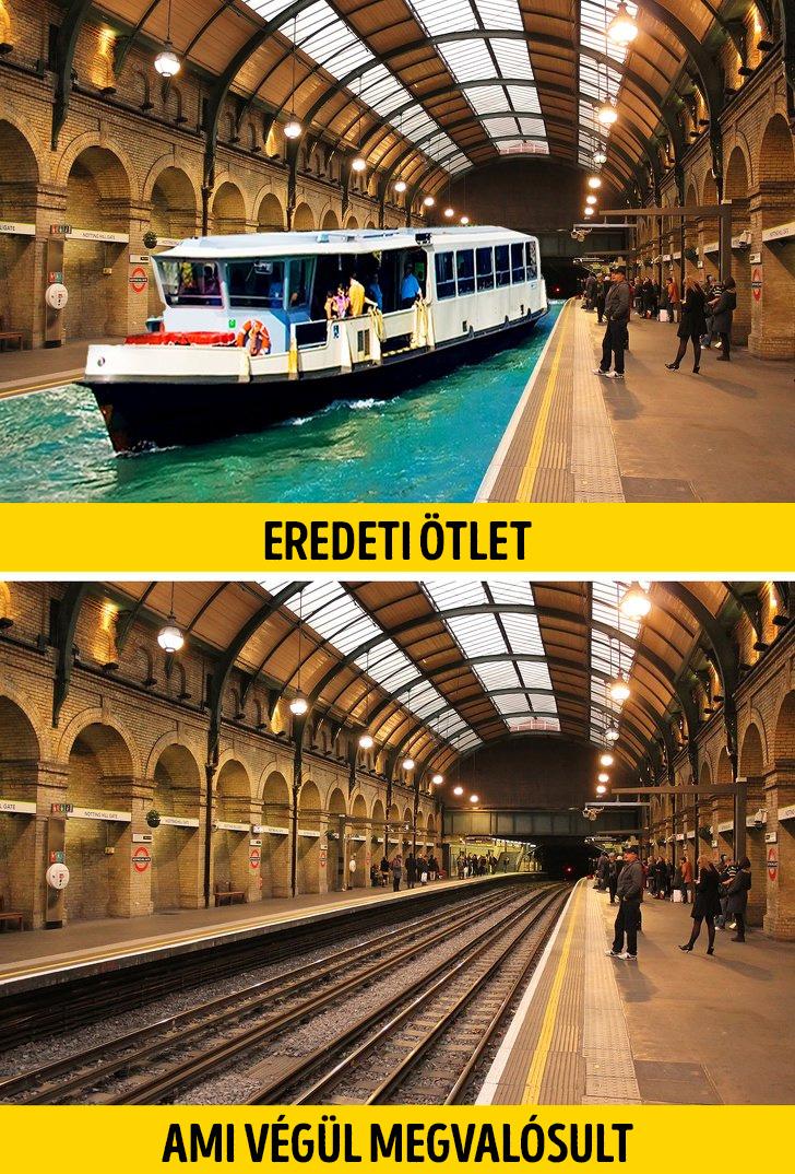 Londoni metro eredeti