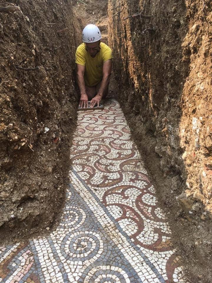 Ókori római mozaik padló