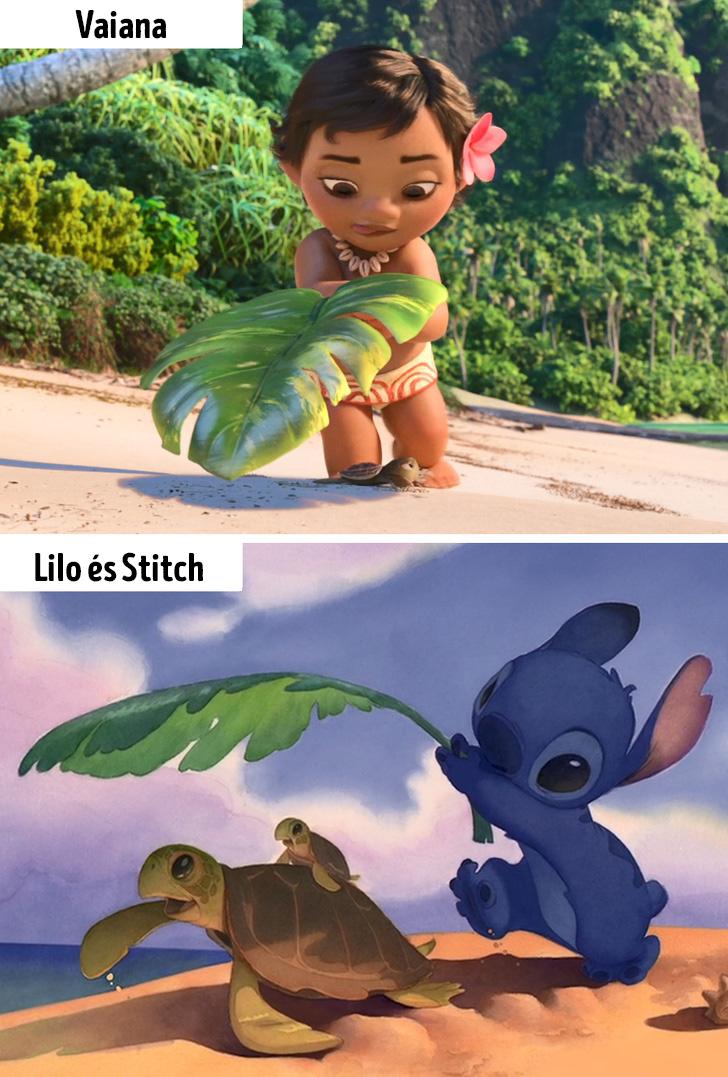 Vaiana es Lilo es Stitch