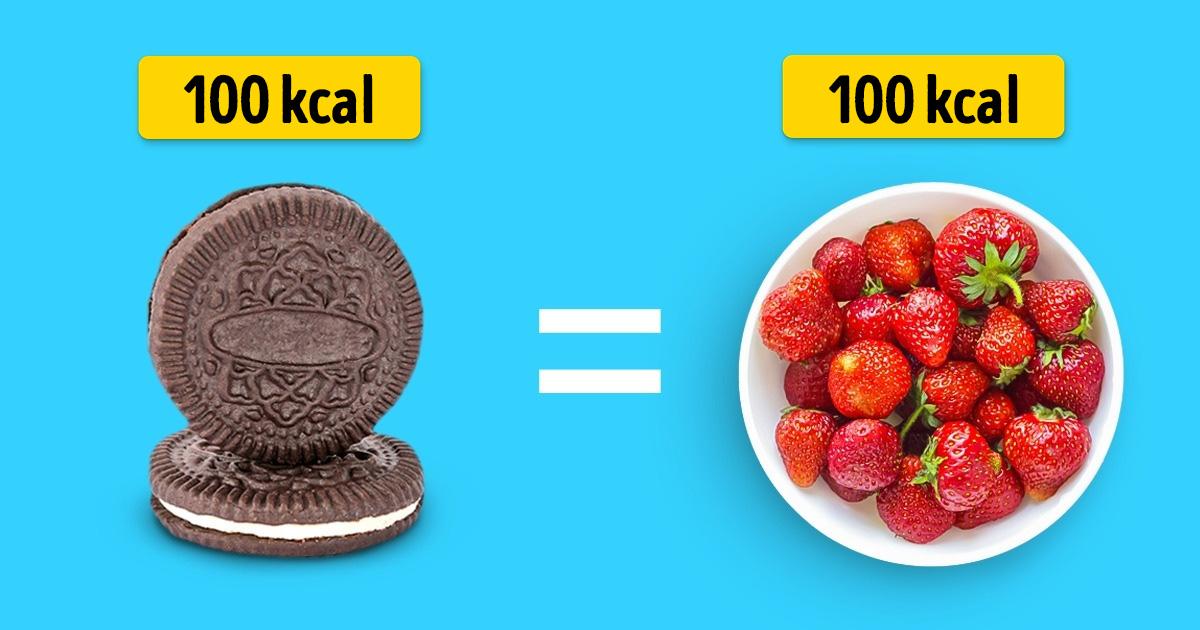 100 kalória ételekben