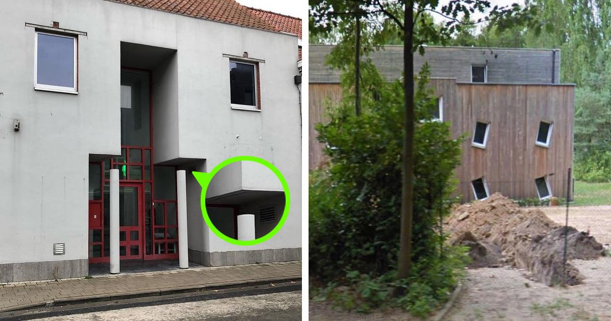 Borzalmas belga házak