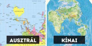 Különleges világtérképek
