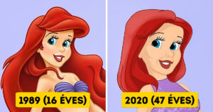 Öregedő Disney hercegnők