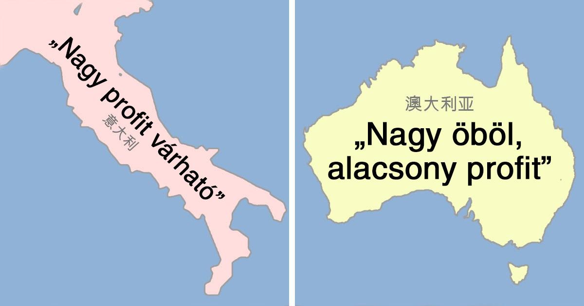 Országok kínai nevei
